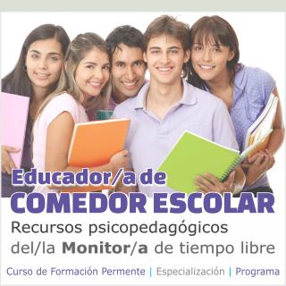 Curso de monitor de comedor escolar gratis